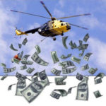 ヘリコプターマネーとは|話題のヘリコプターマネーの効果とリスク